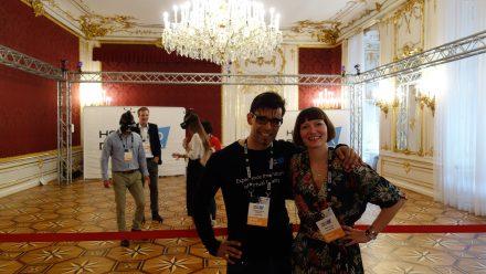 Jonathan Nowak und Barbara Lippe von Holodeck VR (Foto: Munich Startup)