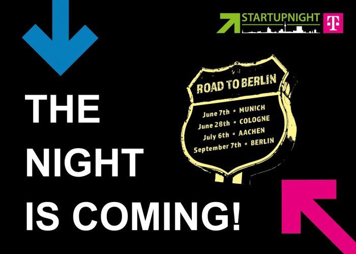 Startupnight – Road to Berlin Event in München