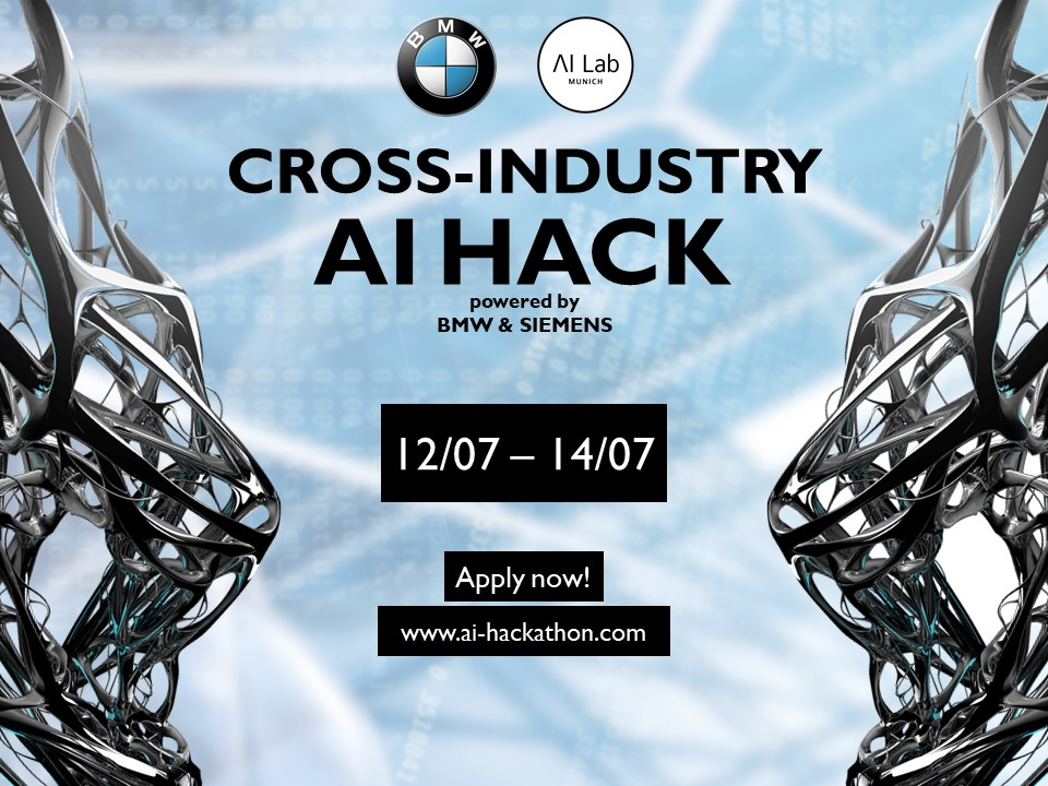 CROSS-INDUSTRY AI HACK powered by BMW & Siemens