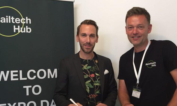 Dr. Dirk Schneider, Chief Digital Officer s.Oliver Group und Thorsten Marquardt, Managing Director Retailtech Hub (v.l.), Foto: Retailtech Hub