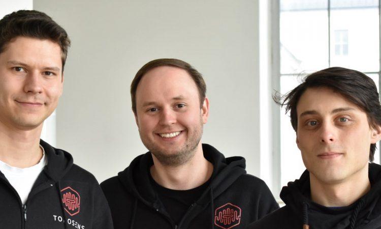 Die Toposens-Gründer Tobias Bahnemann, Alexander Rudoy und Rinaldo Persichini (v.l., Foto: Toposens)