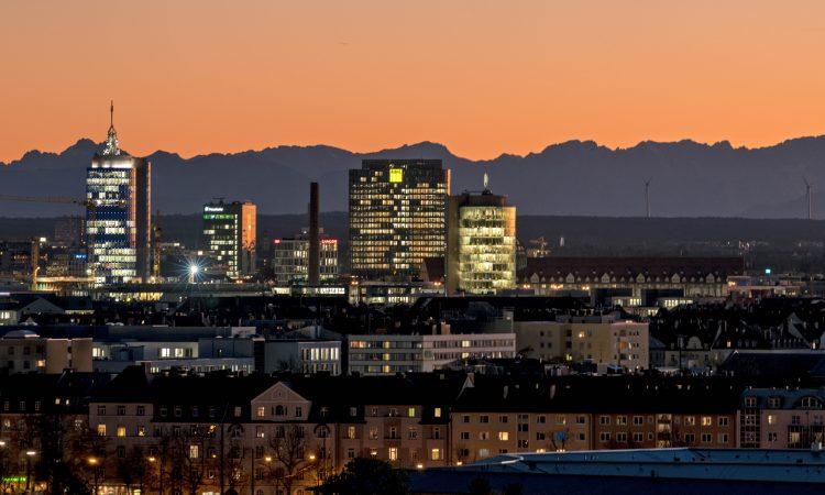Münchner Stadtansicht Gründungsgeschehen