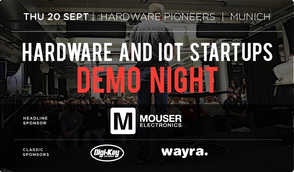 Hardware und IoT Startup Demo Night
