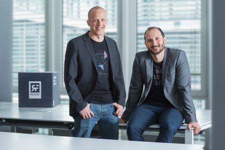 CEO & Gründer Wolfgang Stelzle mit dem COO Kerim Ispir (v.l., Foto: Re'flekt)