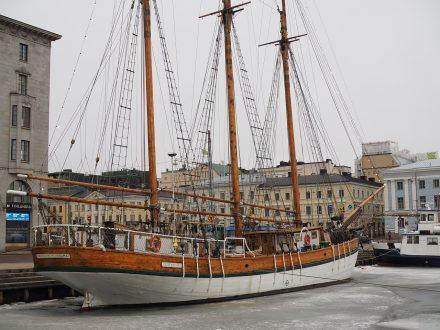 Finnland Segelschiff