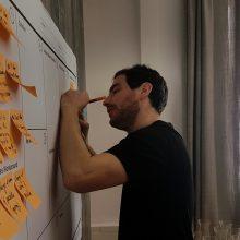 Arbeiten am Whiteboard