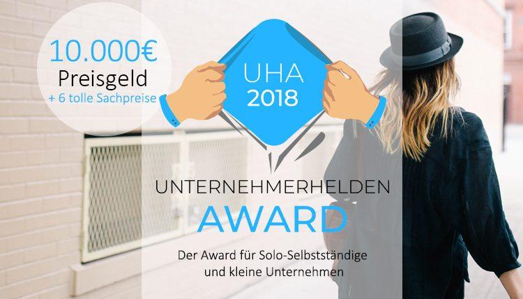 Unternehmerhelden Award 2018