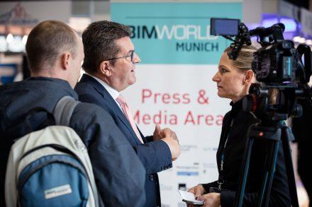 Franz Josef Pschierer auf der BIM World Munich 2017