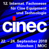 cinec 2018 – Internationale Fachmesse für Cine Equipment und Technologie
