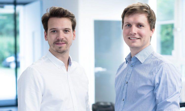 Die Twaice-Gründer und Geschäftsführer Dr. Stephan Rohr und Michael Baumann. (v.l., Foto: Twaice)