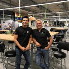 Andy und Tom Weinzierl, die Gründer von drais.
