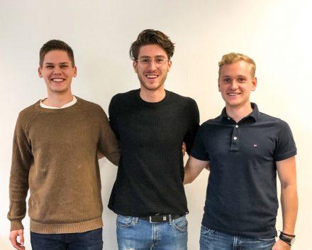 Das Gründerteam von Intefra (v.l.n.r.): Armin Wörner (CTO), Marc Hartmann (CSO) und Christian Pietrulla (CMO).