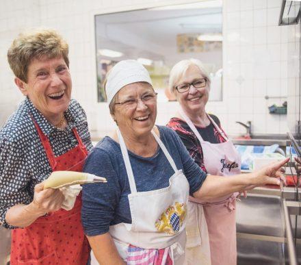 Oma Margit, Oma Renate und Oma Josefine