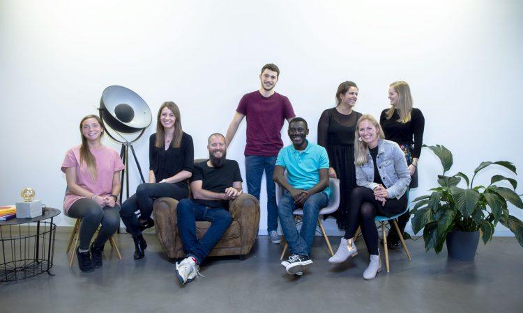 Das Wayra-Deutschland-Team mit Christian Lindener
