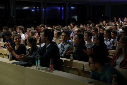 CDTM Event in der Uni