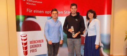 KWERQUS und Timeride gewinnen Münchner Gründerpreis