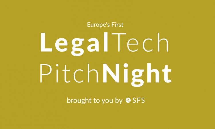 Legal Tech Pitchnight