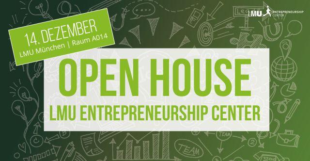 Open House LMU Entrepreneurship Center