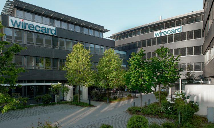 Der Hauptsitz von Wirecard in Aschheim bei München