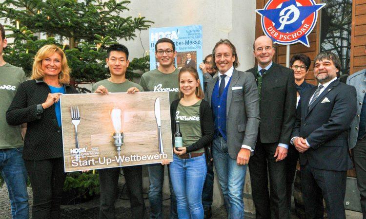 Brewee gewinnt HOGA Startup-Wettbewerb