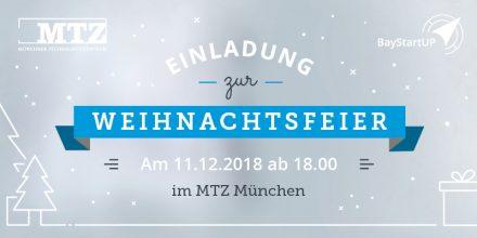 weihnachtsfeier mtz baystartup 2018
