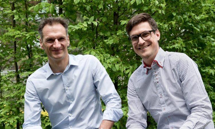 Michael Schwarz und Sebastian Jagsch von Eluminocity kümmern sich um Sensortechnologie.
