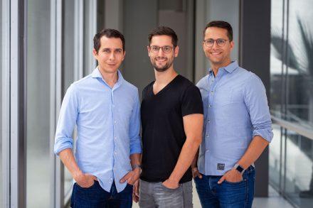 Die Alasco-Gründer Benjamin Günther, Anselm Bauer und Sebastian Schuon.