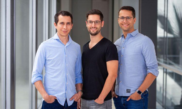 Die Alasco-Gründer Benjamin Günther, Anselm Bauer und Sebastian Schuon. Proptech-Startup