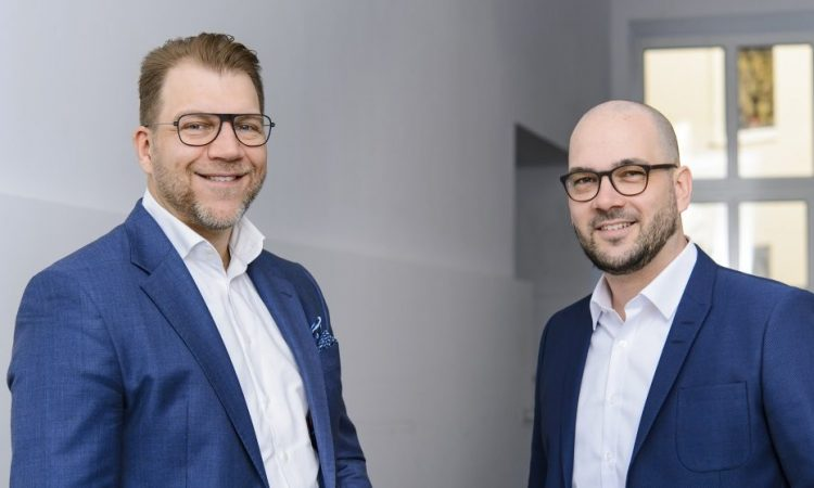 Capmatcher Gründer Boris Hardi und Philipp Berger.