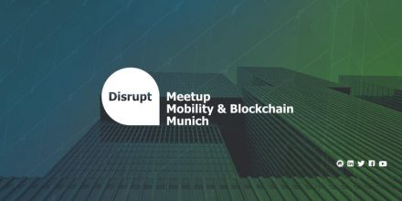 Disrupt Meetup: The Future of Mobility - Effect on Blockchain and Insurtech
