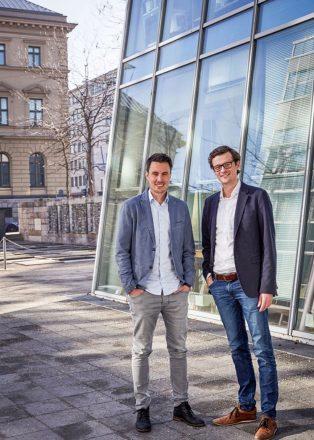 Die Vitafy-Gründer: Georg Bader (l.) und Christian Böhm (r). (Foto: Vitafy)