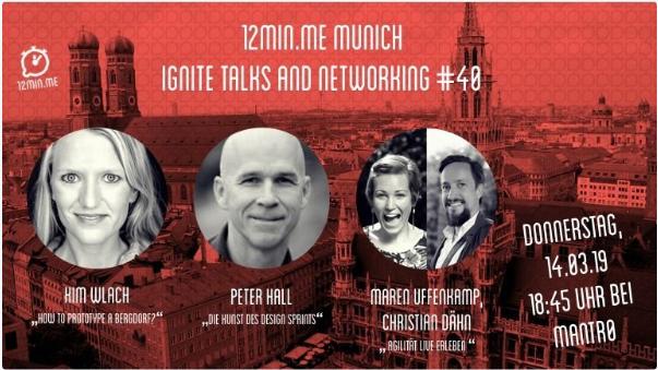 12min.me - Ignite Talks & Networking #40