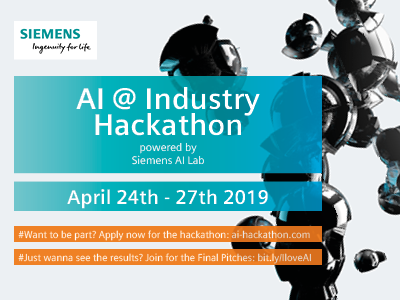 AI @ Industry Hackathon powered by Siemens AI Lab