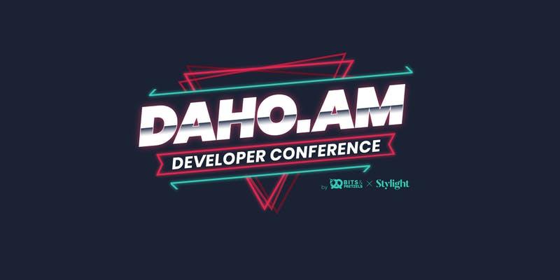 DAHO.AM Developer Conference 2019