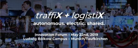 traffiX + logistiX Innovation Forum 2019