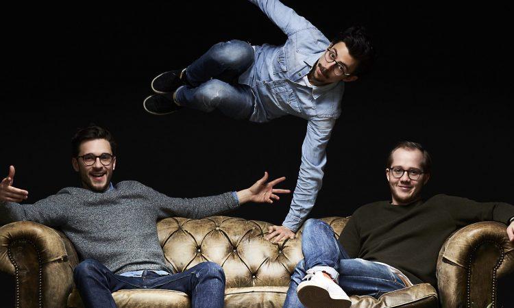 Die Gründer von Frank Juice: Marco Gariboldi, Daniel Andreoli und Korbinian Gerstl. (Foto: Frank Juice)