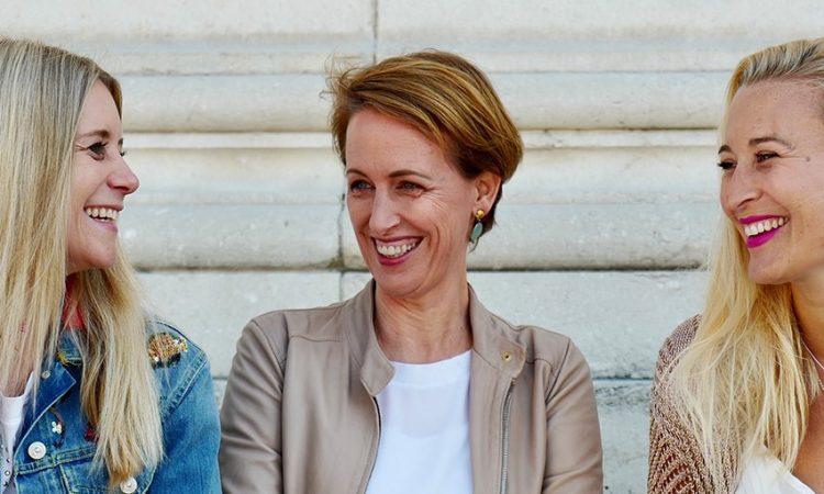 Die Zoé Lu Gründerinnen Ulrike Heintz, Jennifer Rüggeberg, Larissa Walter