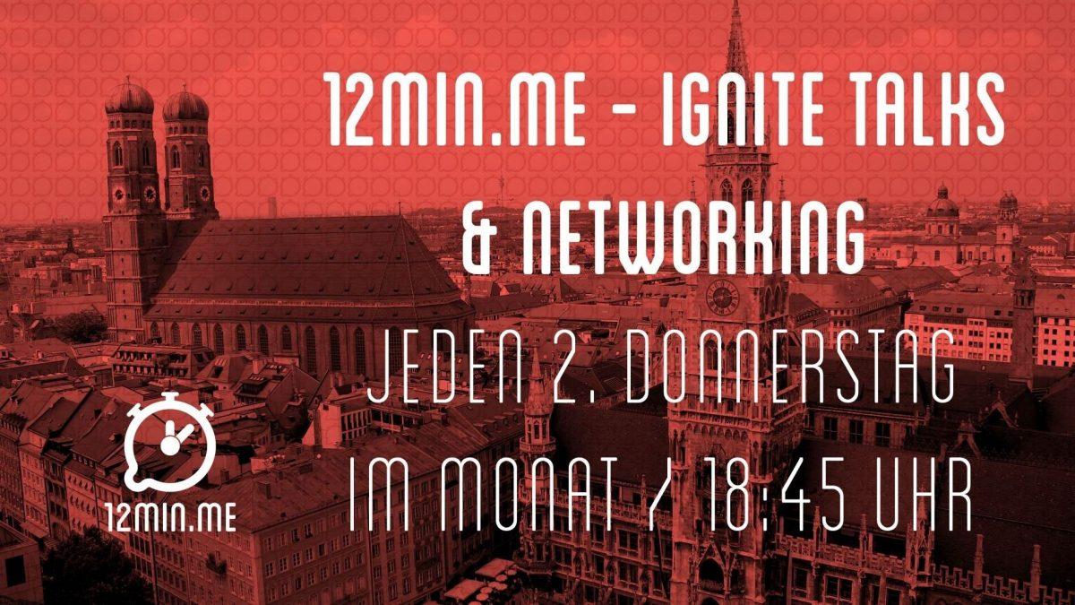 12min.me - Ignite Talks & Networking