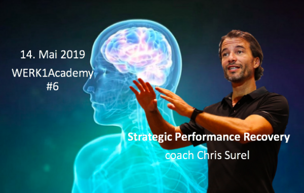 "WERK1academy powered by Chris Surel ""Strategic Recovery"""