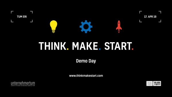Demo Day of Think.Make.Start. - Batch #9