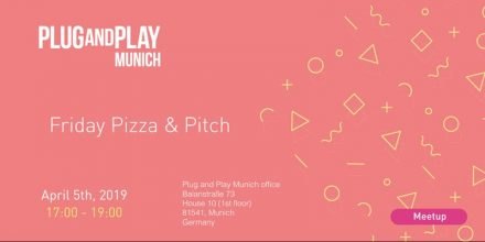 """Plug and Play's """"Pitch'n Pizza"""""""