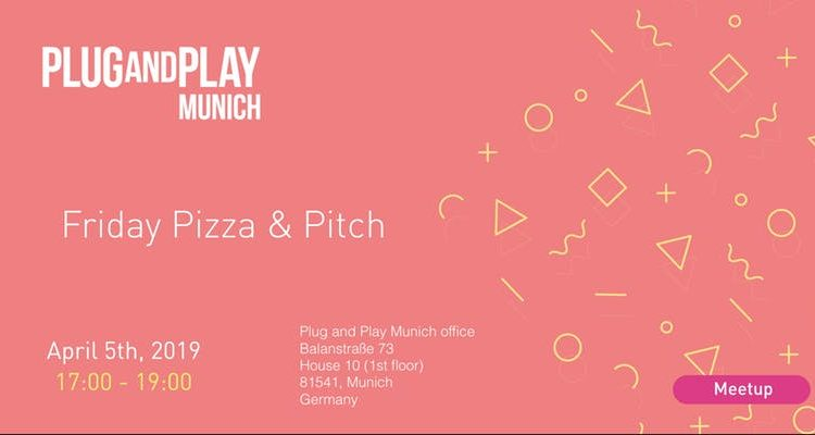 "Plug and Play's ""Pitch'n Pizza"""