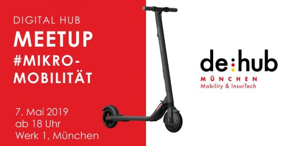Digital Hub Meetup #Mikromobilität