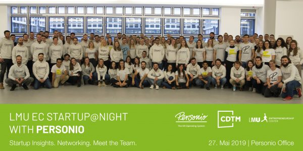 Startup@Night with Personio