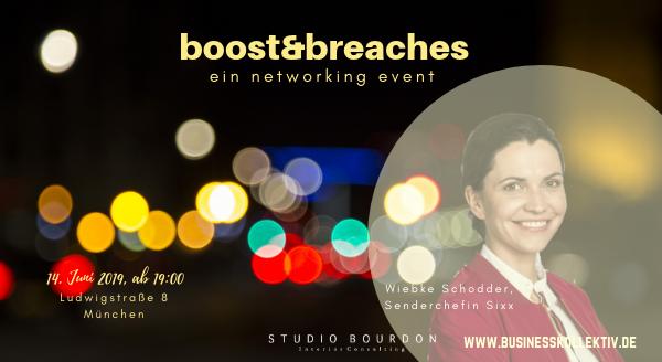 boost&breaches: Businesstalk mit Wiebke Schodder, Senderchefin Sixx