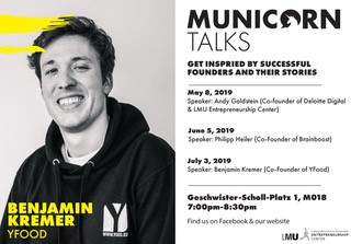 Municorn Talkes, Benjamin Kremer YFood