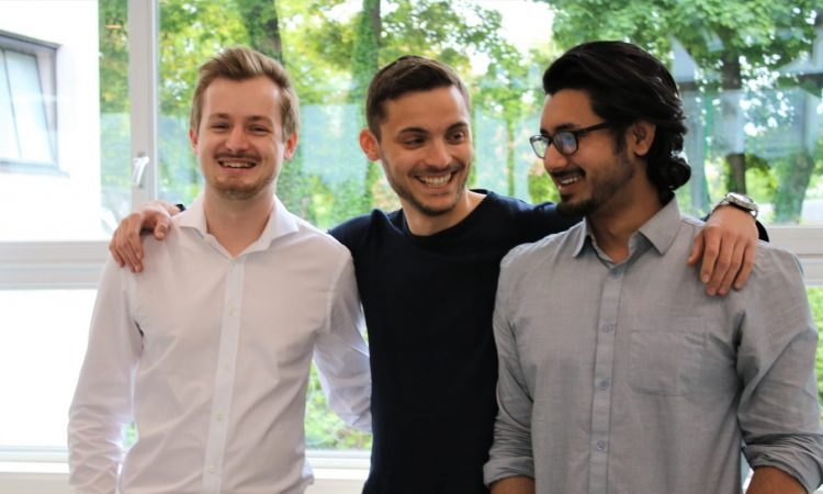 Team Presize: Szenzil, Tomov, Shafique Innovationspreis Bayern 2020