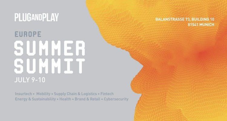 Europe Plug and Play Summer Summit