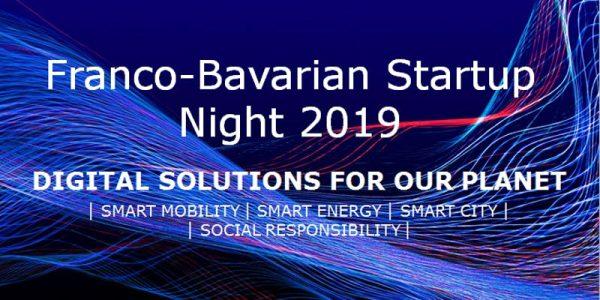 Franco-Bavarian Startup Night 2019
