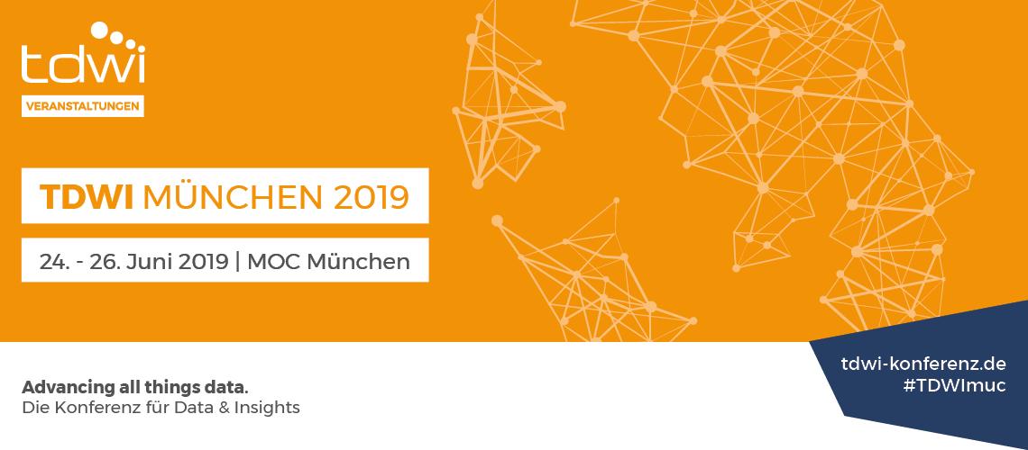 TDWI München 2019 | Die Konferenz für Data & Insights